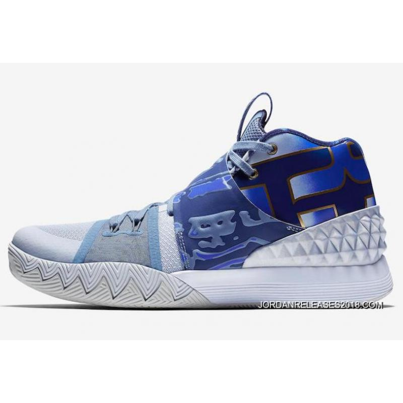 New Year Deals Nike Kyrie S1 Hybrid What The Aj5165902 Blue Gold White
