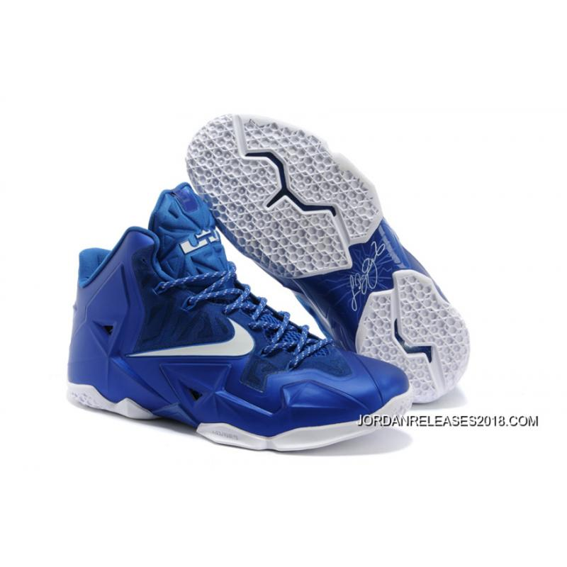b567e55e9a40 Blue And White Lebron Cheap Lebron 10 60