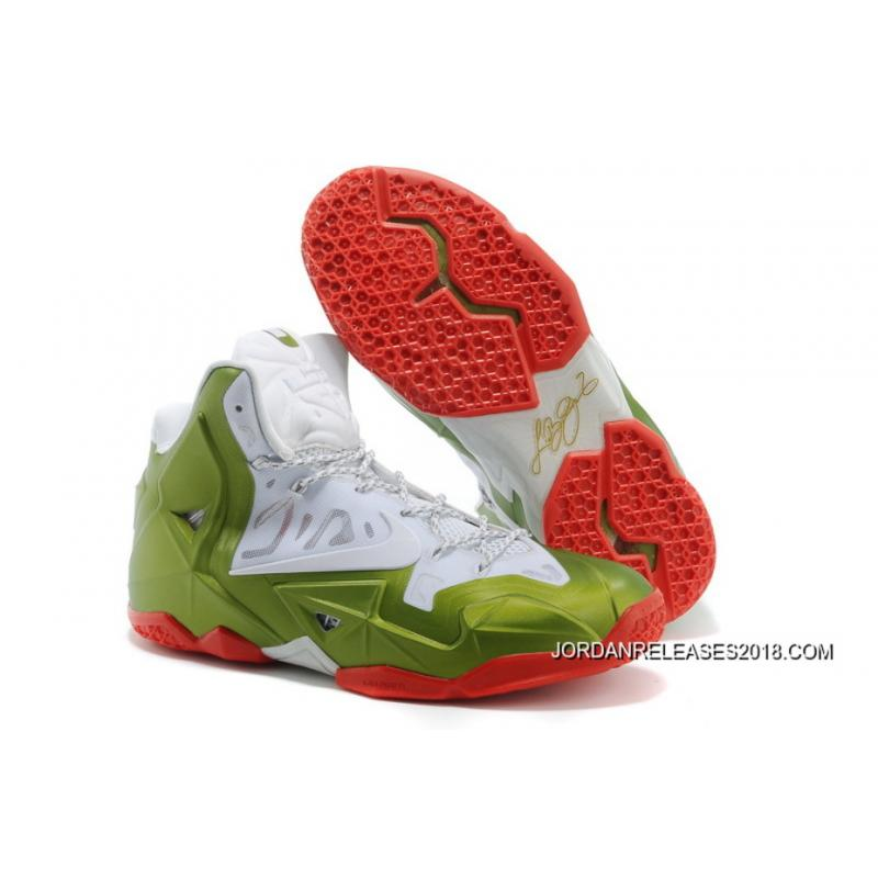 "Nike LeBron 11 ""Gold Medalist"" White Gold Medal-Red 2018 New Release ... 7de2a5147"