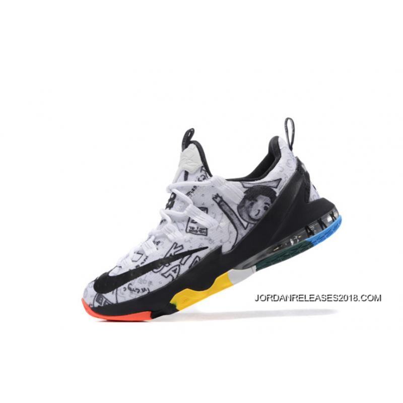 "... 2018 Copuon Nike LeBron 13 Low ""LeBron James Family Foundation"" ..."