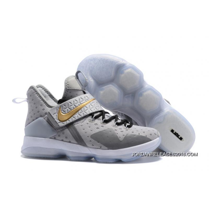 Nike Lebron 14 Wolf Grey Black TopDeals