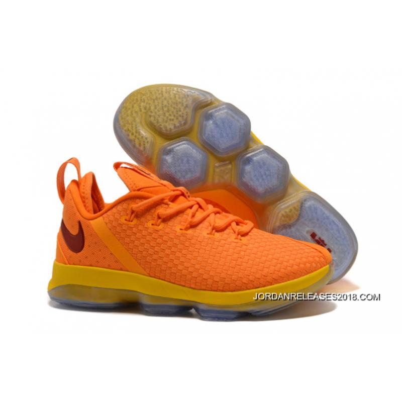 2018 Nike Lebron 14 Low Bright Yellow Discount