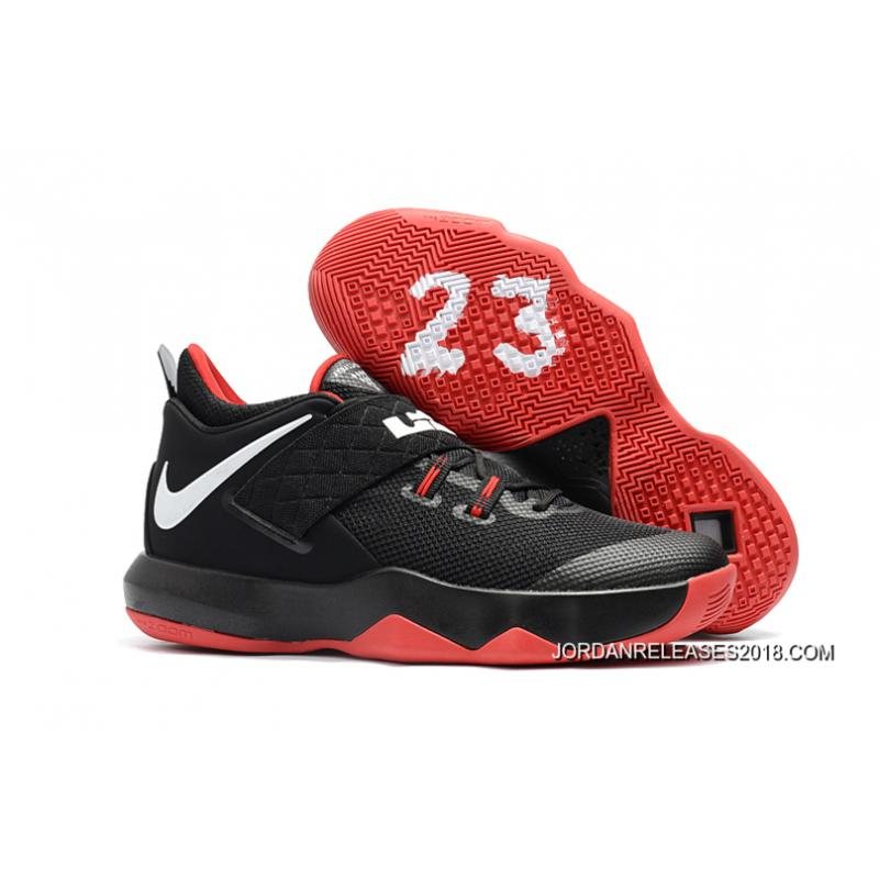 huge selection of aed96 63de4 best price new style nike lebron ambassador 10 black red white 0bc77 16e2d