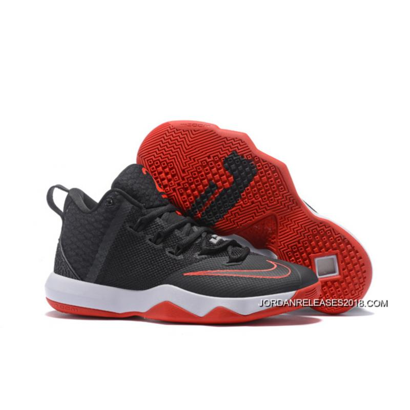 new product 7456d caca0 Nike LeBron Ambassador 9 Black Red White 2018 New Year Deals ...