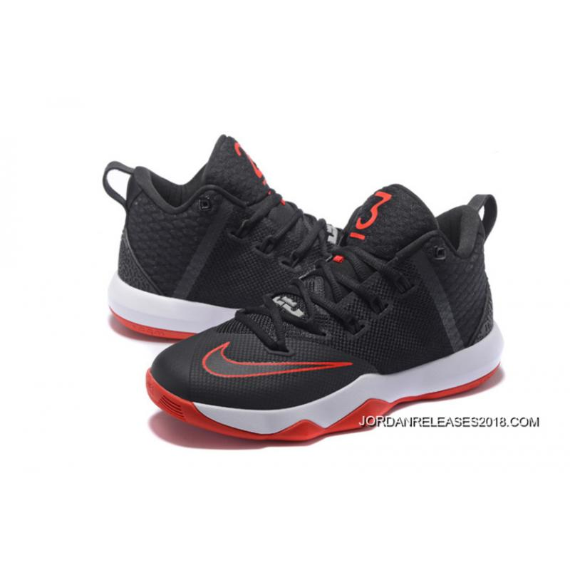e7a92a64117 ... top quality nike lebron ambassador 9 black red white 2018 new year  deals . b6351 5faa4