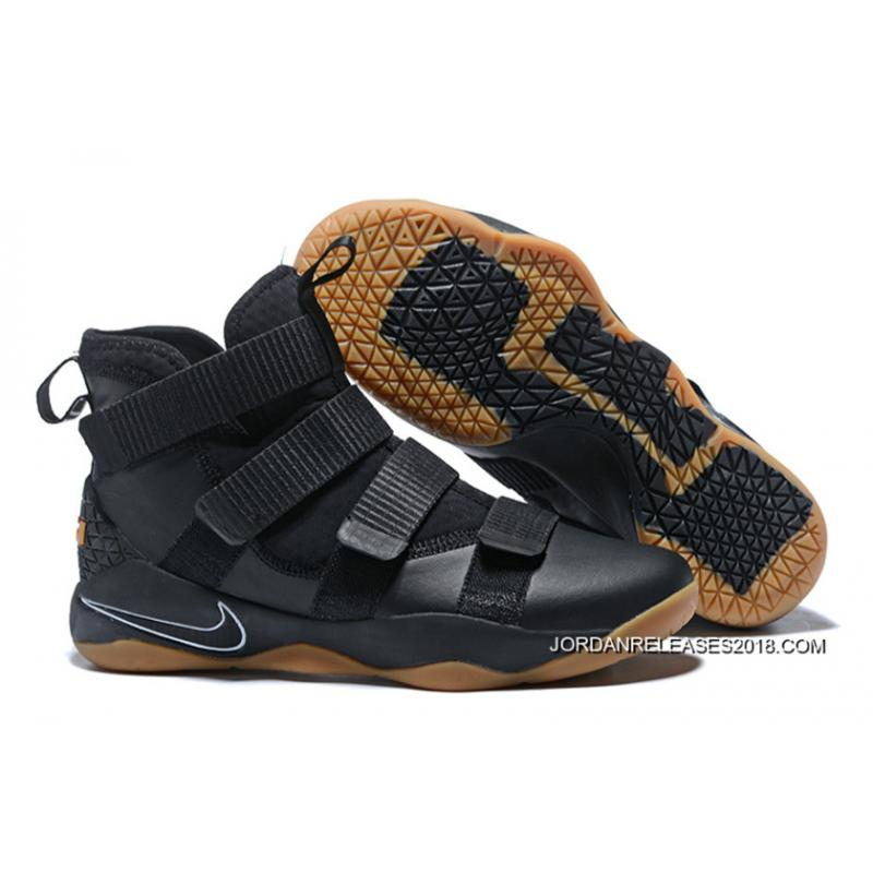 "e7d7d4fe7ac Nike LeBron Soldier 11 ""Black Gum"" 2018 Super Deals ..."