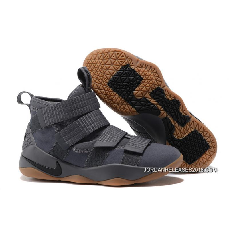 "2018 Best Nike LeBron Soldier 11 ""Grey Gum"" ..."