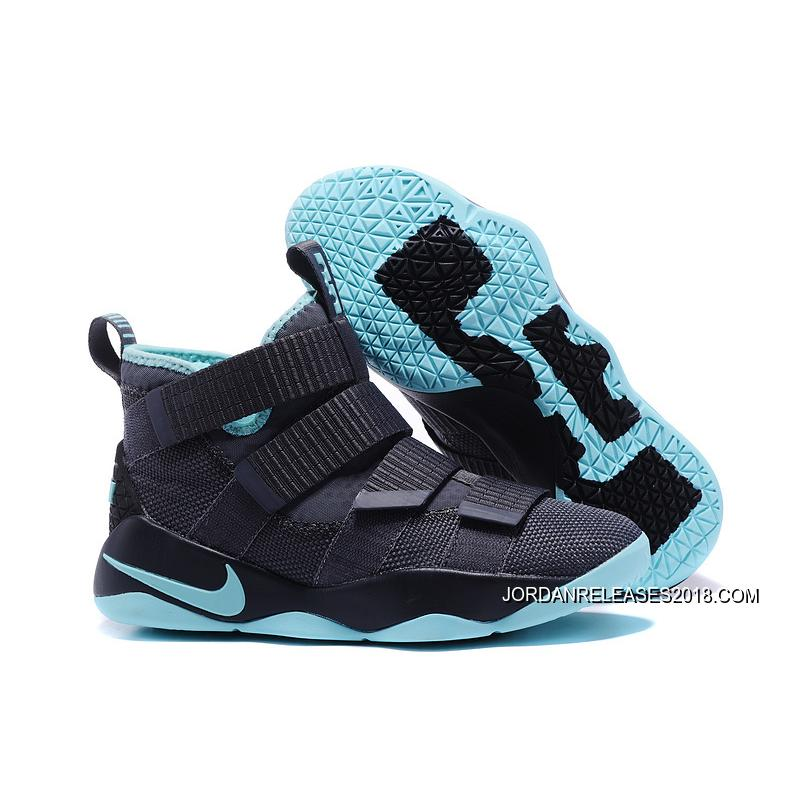 "finest selection 2632f 03f6f New Style Nike LeBron Soldier 11 ""Igloo"" Cool Grey Igloo ..."