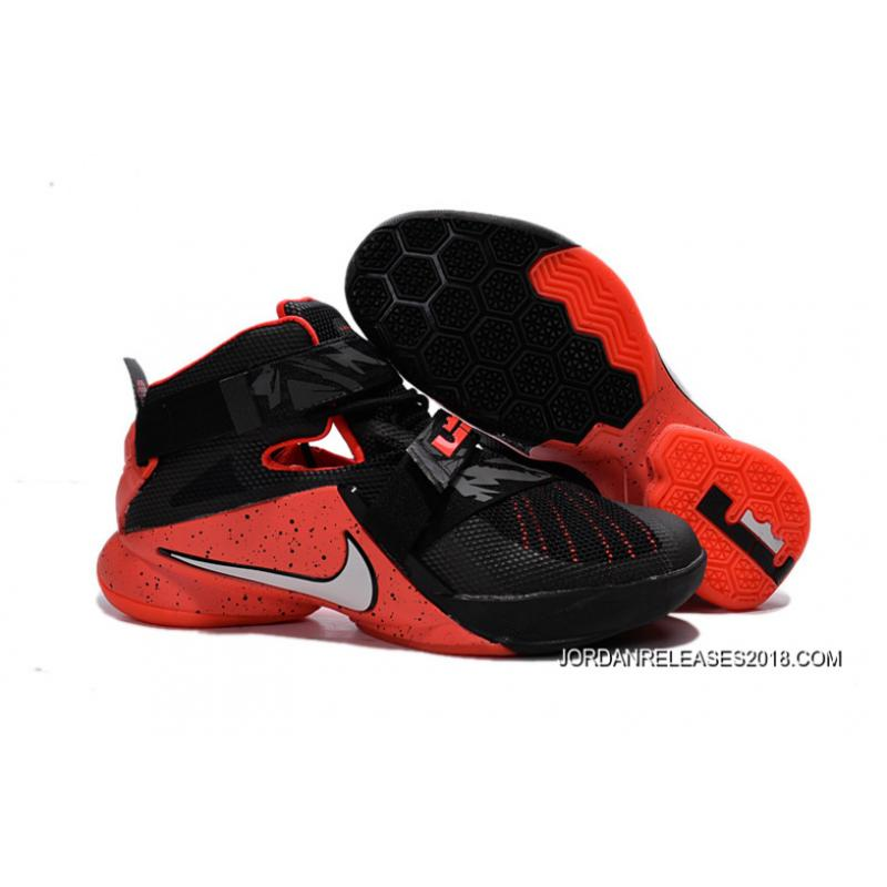 603b24bbeb7 ... norway nike lebron soldier 9 black red basketball shoe 2018 top deals  12e65 9ddef