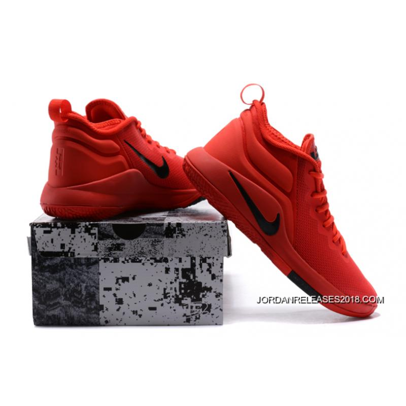 """cc28cf79d06 ... 2018 New Release Nike LeBron Zoom Witness 2 """"University Red"""" Basketball  Shoes"""