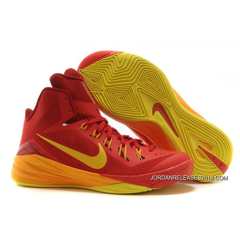 "ed314dcc2360 2018 New Style Nike Hyperdunk 2014 ""Spain"" University Red University  Gold-Team ..."