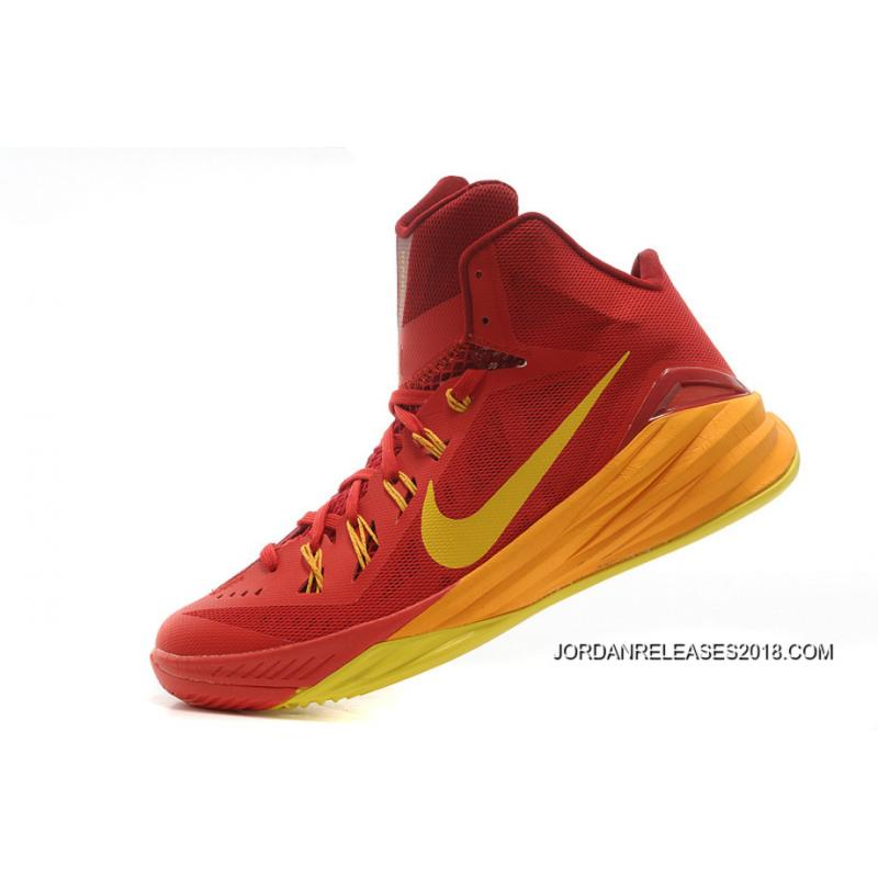 newest 57774 531f0 ... new style 2018 new style nike hyperdunk 2014 spain university red  university gold team 14c93 4bd83