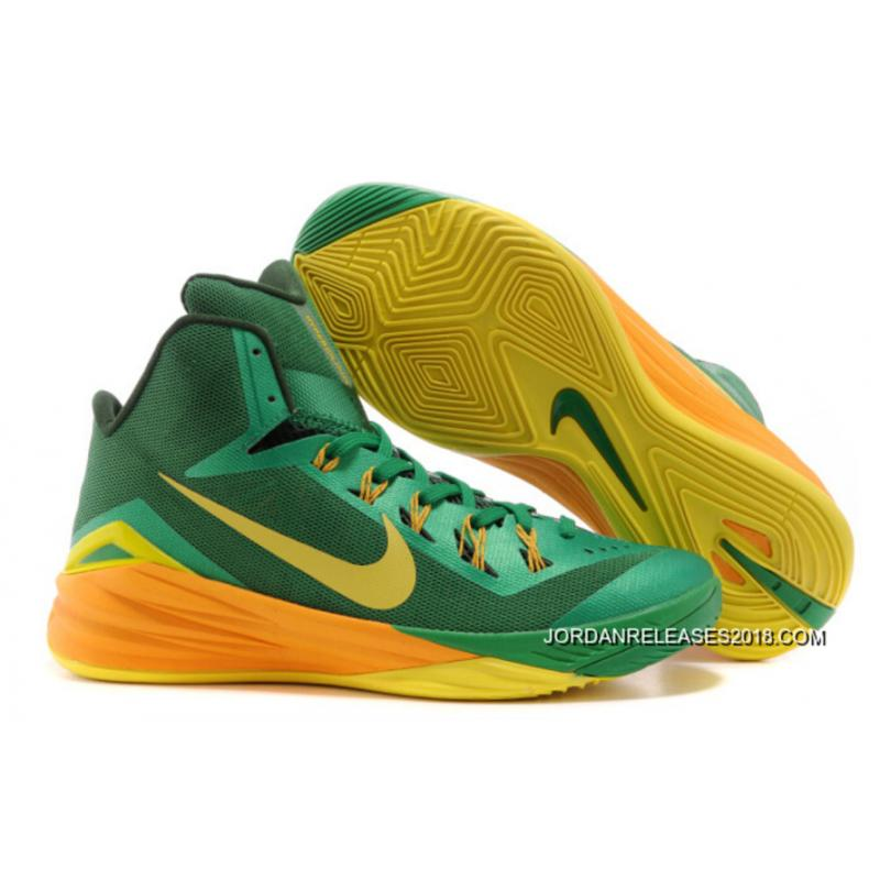 "f81bb6b6ba41 2018 New Release Nike Hyperdunk 2014 ""Brazil"" Lucky Green Sonic  Yellow-Gorge ..."