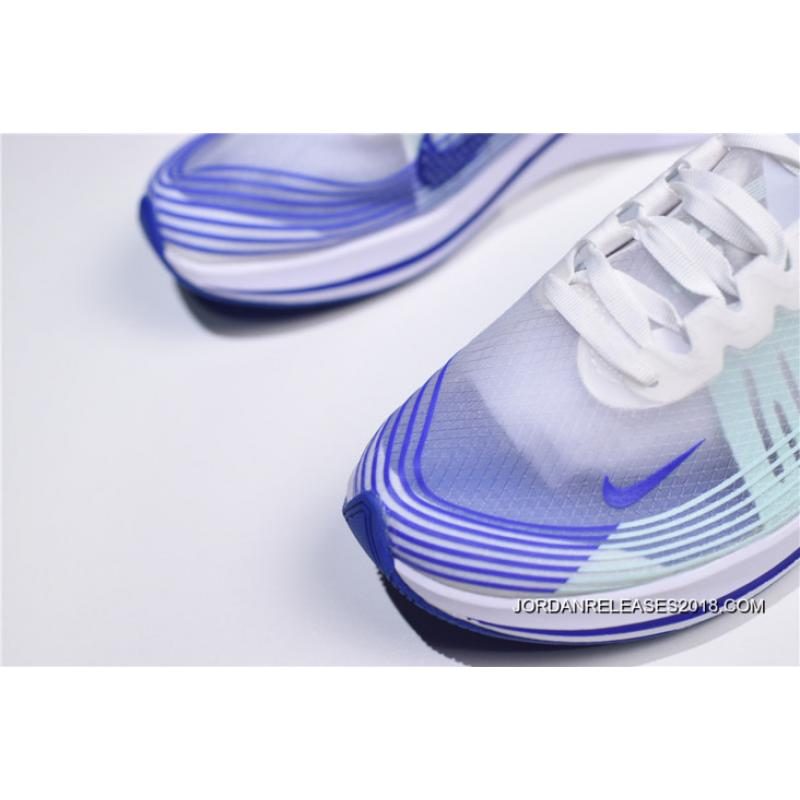 "f8b9193f8d92c ... Women For Sale WMNS Nike Zoom Fly SP ""Royal"" White Indigo Burst AJ8229  ..."