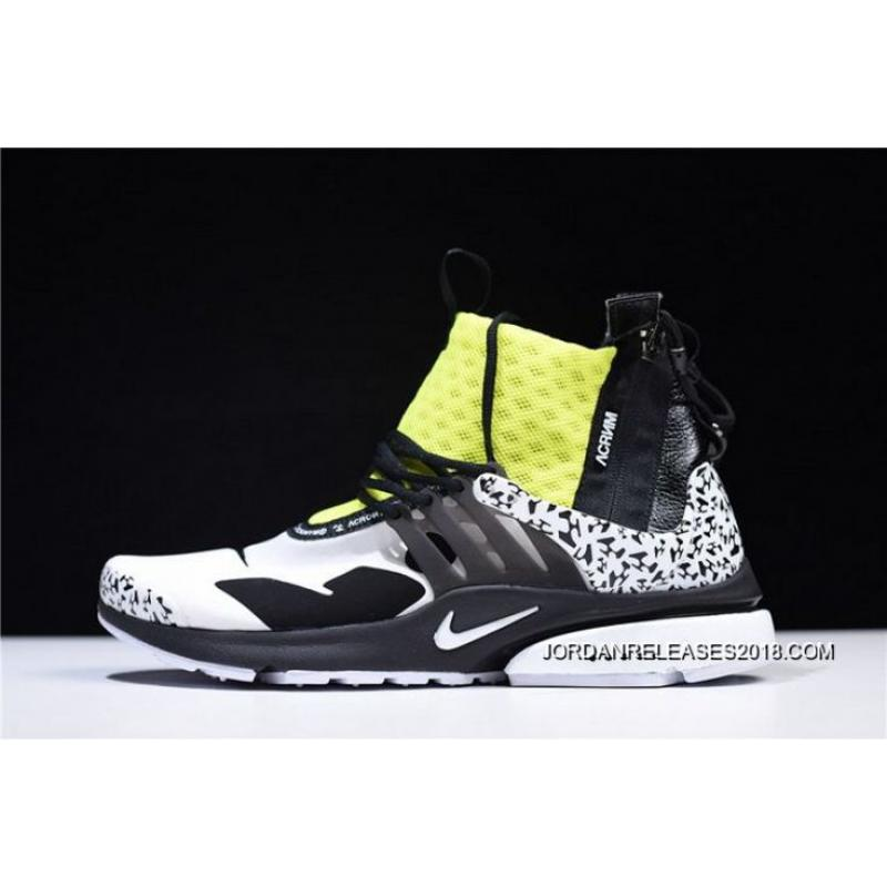 Men ACRONYM X NikeLab Air Presto Mid Running Shoes SKU 69405-343 Authentic  ... ce5af2549