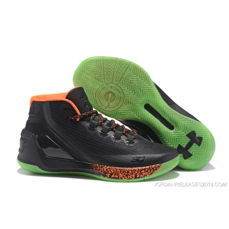 "b940a63d2d4 Under Armour Curry 3 ""Lights Out"" Halloween PE Top Deals, Price ..."