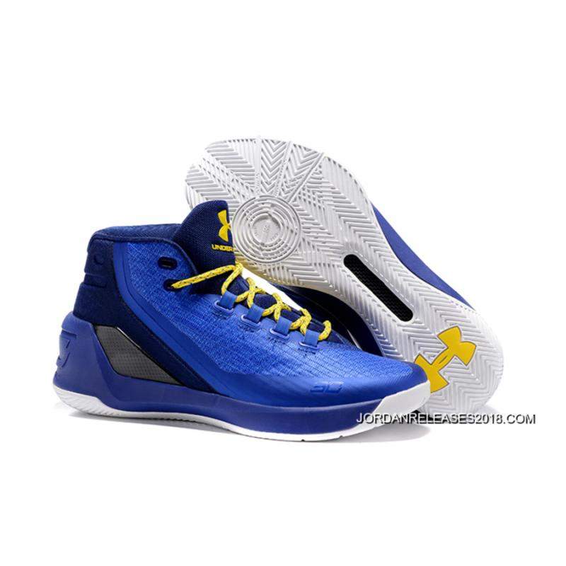 "0412eb56d40 2018 Top Deals Under Armour Curry 3 ""Dub Nation Heritage"" ..."