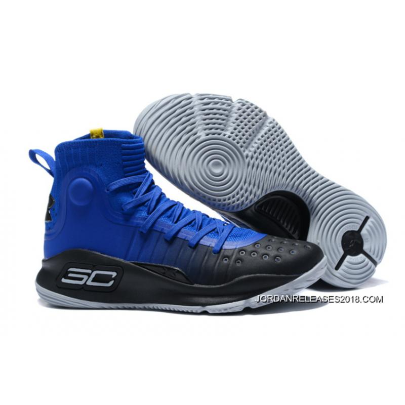 "f7e54613e122 2018 Discount Under Armour Curry 4 ""Away"" Team Royal Academy-Team Royal ..."