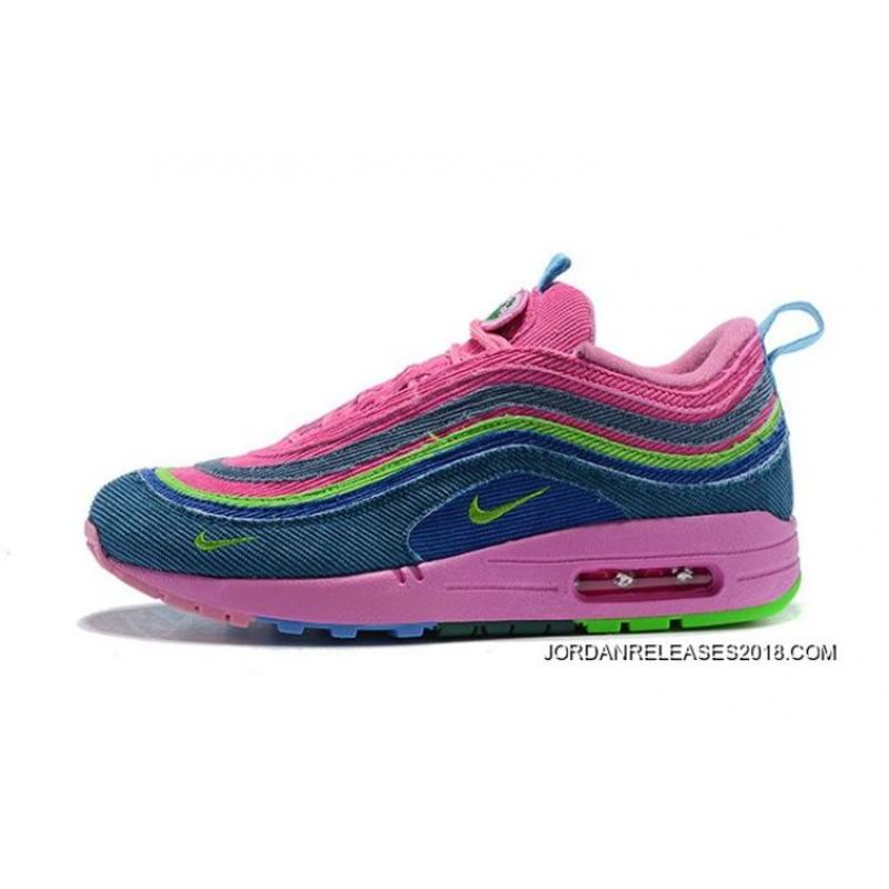 652371976a Women Sean Wotherspoon Nike Air Max 97 Hybrid SKU:107422-272 New Style ...