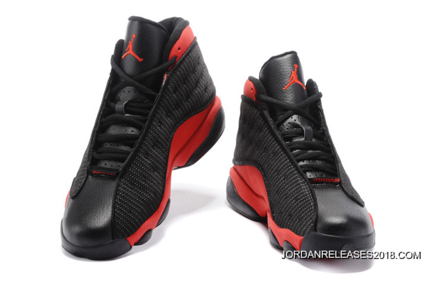 "new arrivals eff54 e383b Air Jordan 13 ""Bred"" Black/True Red-White Latest"