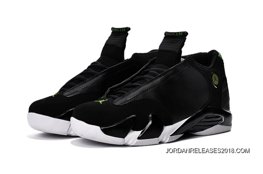 """5e2aa8bf3fd 2018 Best Air Jordan 14 """"Indiglo"""" Black/White Shoes, Price: $87.69 ..."""