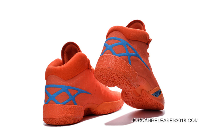 competitive price 0fa67 b699c 2018 Best New Air Jordan 30 XXX Playoffs Orange Blue PE