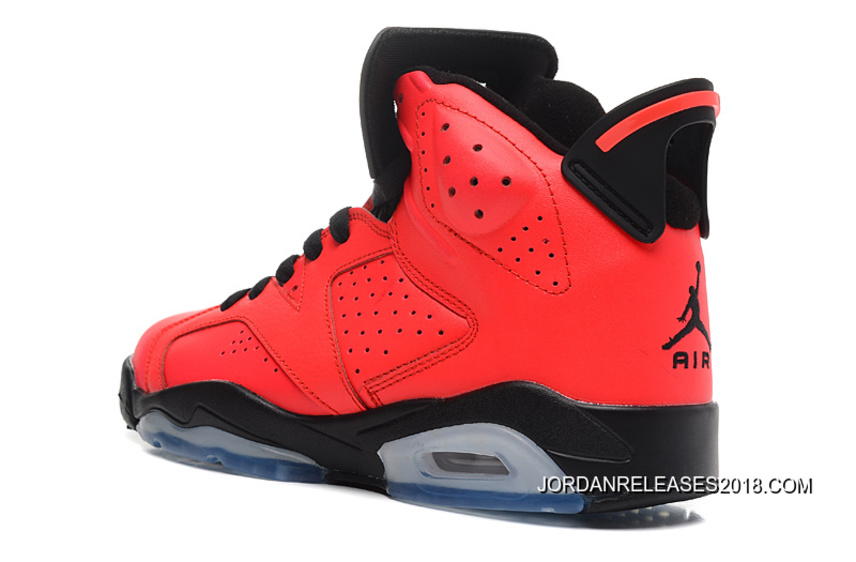 sports shoes 1f8be 8d97b 2018 New Style New Air Jordan 6 Retro Infrared 23/Black-Infrared 23