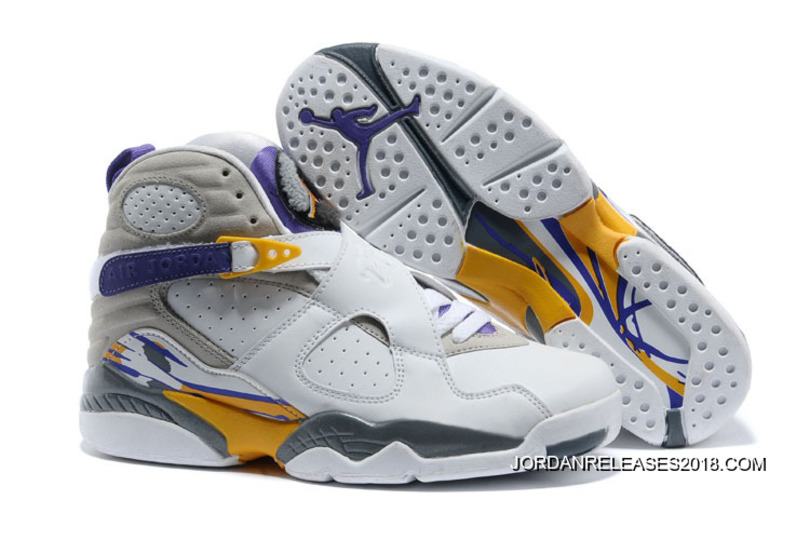 "buy popular ef516 eb059 Air Jordan 8 ""Kobe Bryant Lakers Home"" PE 2018 Best"