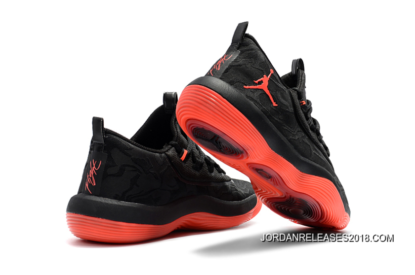"d430423e9637 Jordan Super.Fly 2017 Low ""Infrared 23″ Black Red 2018 Online"