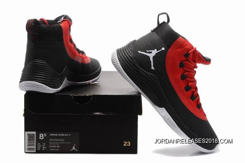 613f106328fb2 ... authentic jordan ultra fly 2 black gym red white 2018 for sale 0e362  a3013