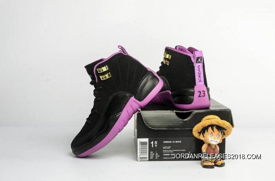 info for 25a5b aa436 ... best price kids air jordan 12 hyper violet 2018 for sale a6653 e4920 ...