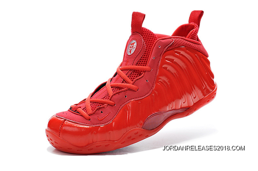 8d9c8435efe 2018 Latest Nike Air Foamposite One All Red