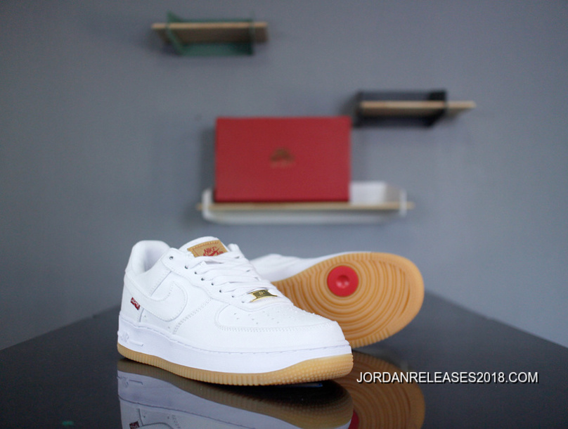 Retro Nike Air Force 1 X Levi S Levis A02571 601 All White One To Be Publishing AF1 Tannin Denim Original Surface Built in Zoom In This Market New