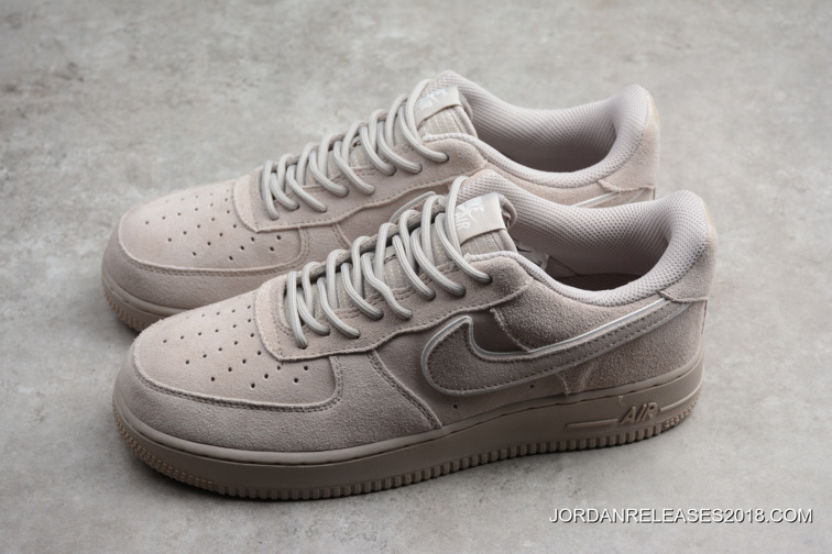 discount shop buy cozy fresh Nike Air Force 1 '07 LV8 Suede Moon Particle AA1117-201 ...