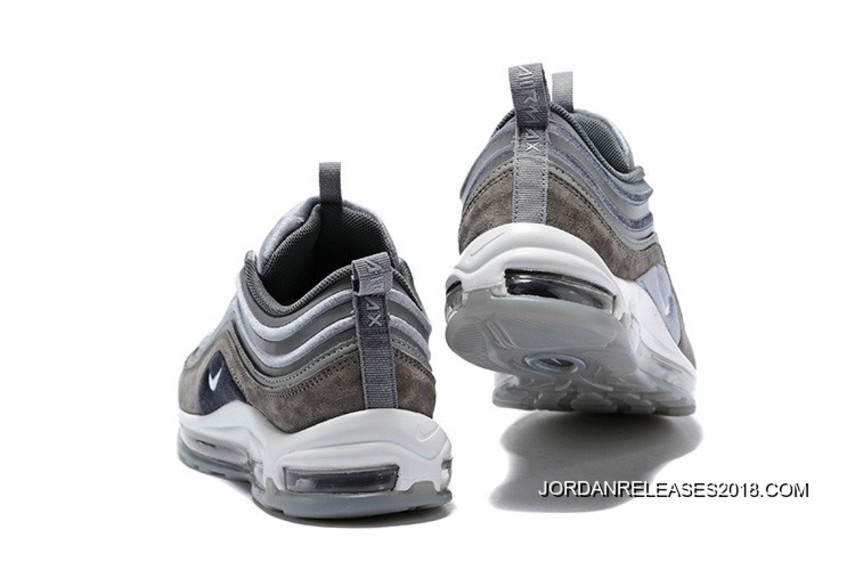 Nike Air Max 97 Ultra 17 LX GunsmokeWhite Atmosphere Grey Suede Latest