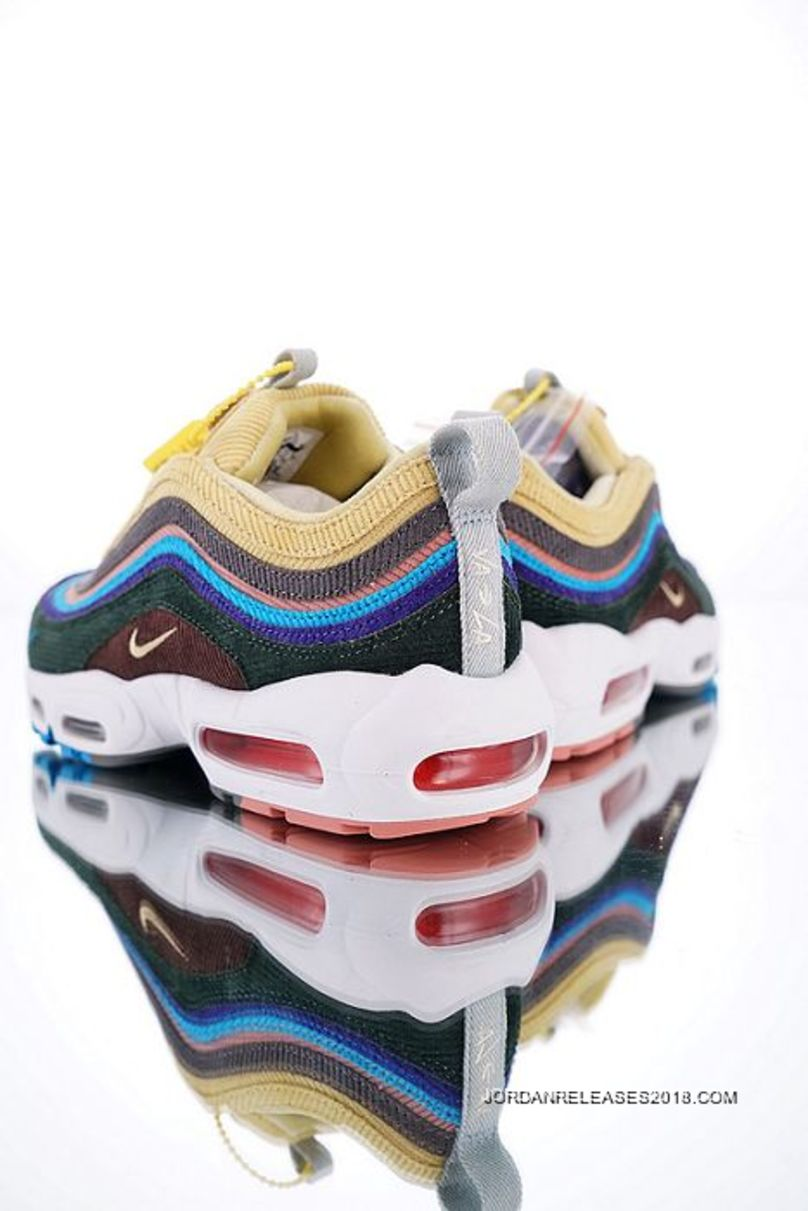 Men Sean Wotherspoon X Nike Air Max 9795 VF SW Hybrid SKU:122890 403 Outlet