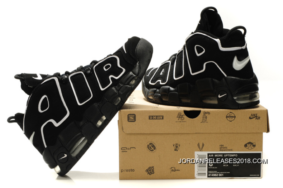 "the latest bf81a 4bd46 2018 Outlet Nike Air More Uptempo OG ""Black White"""