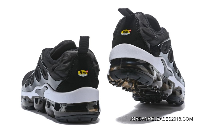 free shipping 6a1e3 e2689 Nike Air VaporMax Plus Black White 2018 Free Shipping