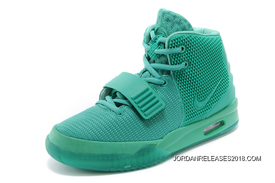 "timeless design 6bdd7 55494 2018 New Style Nike Air Yeezy 2 ""Green Lantern"" Glow In The Dark"