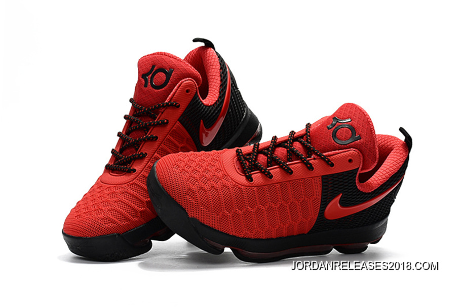 be1527555844 ... hot 2018 new style nike kd 9 red black basketball shoes 005ae 68791