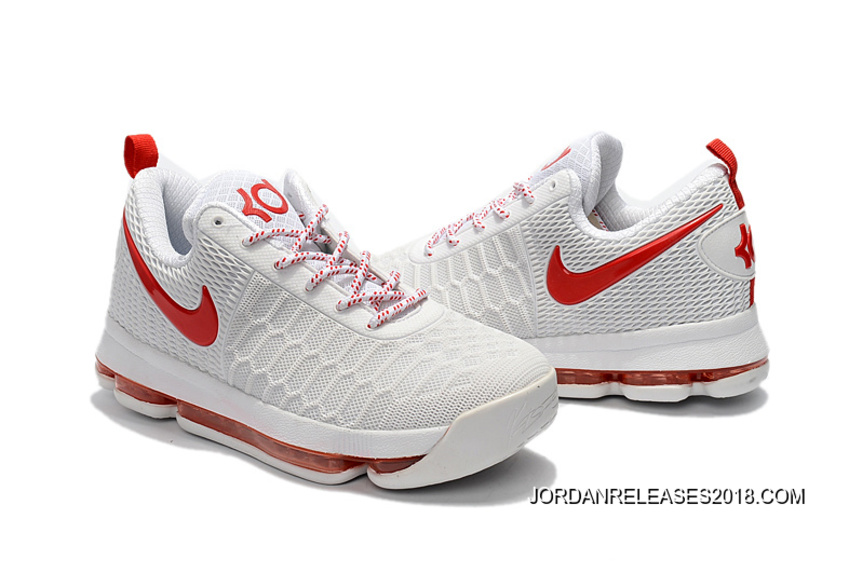 wholesale dealer 97014 620a0 Nike KD 9 With Red Basketball Shoes 2018 Free Shipping
