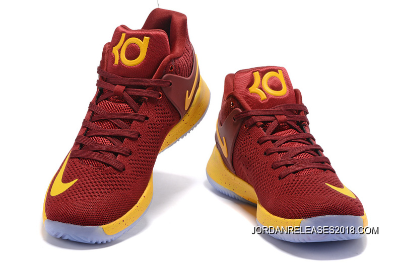 new product d9fbc cda9a promo code for nike kd trey 5 knit wine red yellow 2018 for sale 4f39f 8c02e