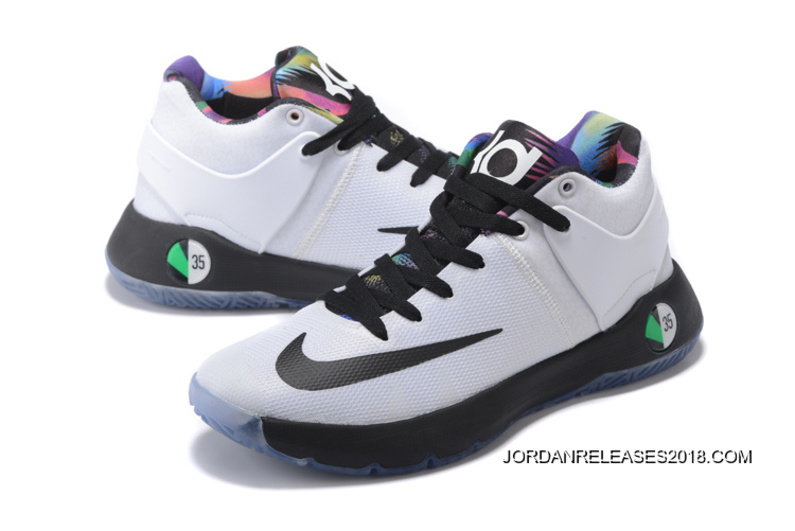 low priced 01029 cbf57 Nike KD Trey 5 IV White Black Total Orange Multi-Color 2018