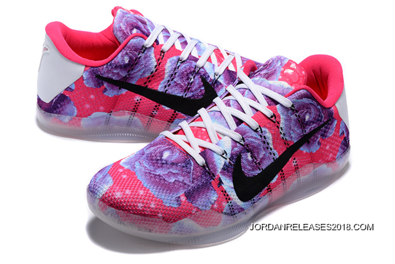 """info for 2a4c3 704b7 Nike Kobe 11 """"Aunt Pearl"""" Vivid Pink/Black-Hyper Turquoise Top Deals ..."""
