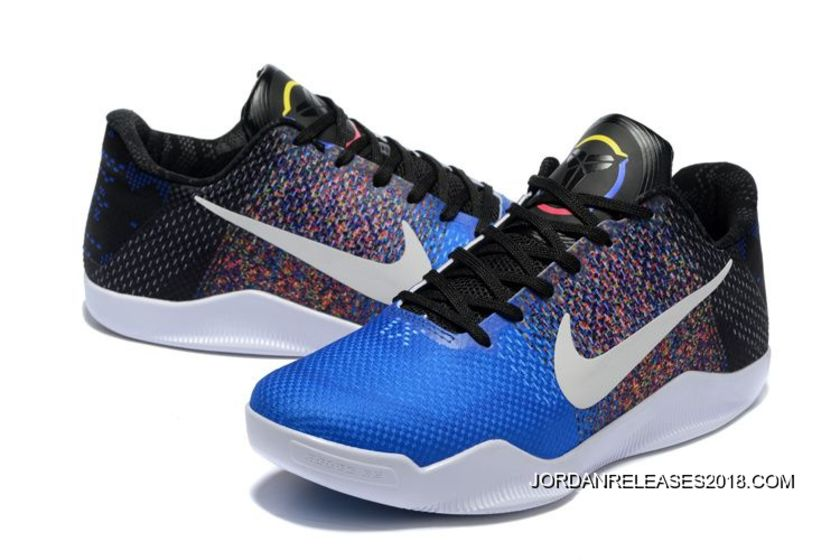 """outlet store a57a1 0c2ad Nike Kobe 11 """"BHM"""" Black History Month Black Multi-Color 2018 Latest"""