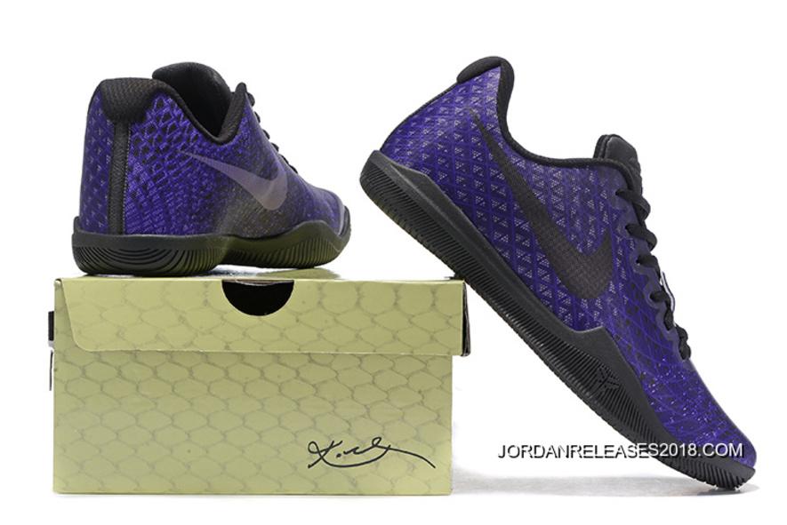 02ffd96b5e5f Nike Kobe 12 Dark Purple Black Men s Basketball Shoe 2018 Online ...