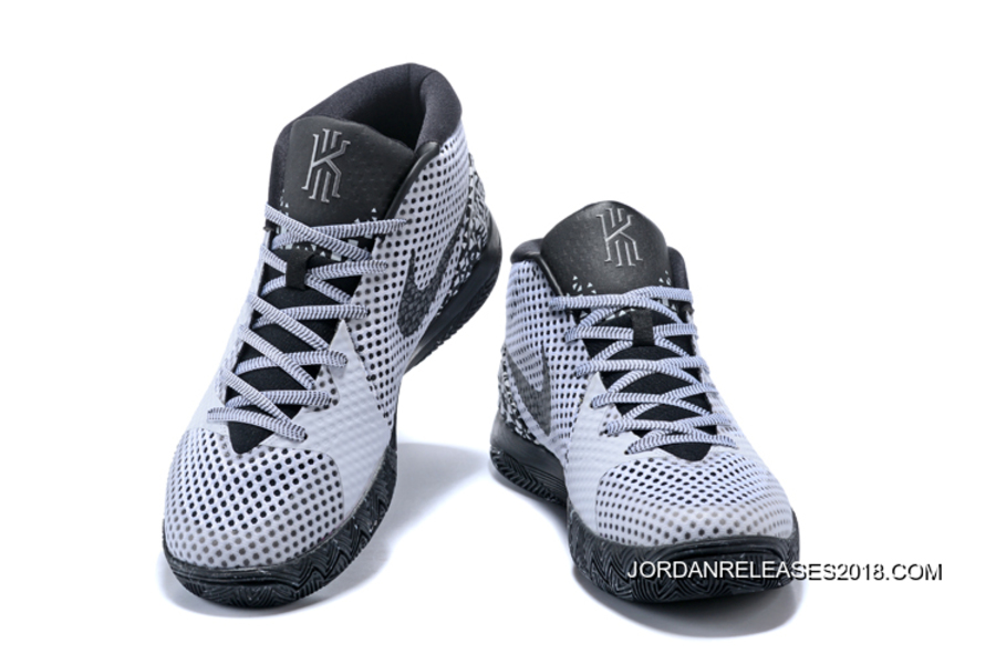 "reputable site 9d846 da52e 2018 New Year Deals Nike Kyrie 1 ""BHM"" WhiteBlack-Dark Grey"