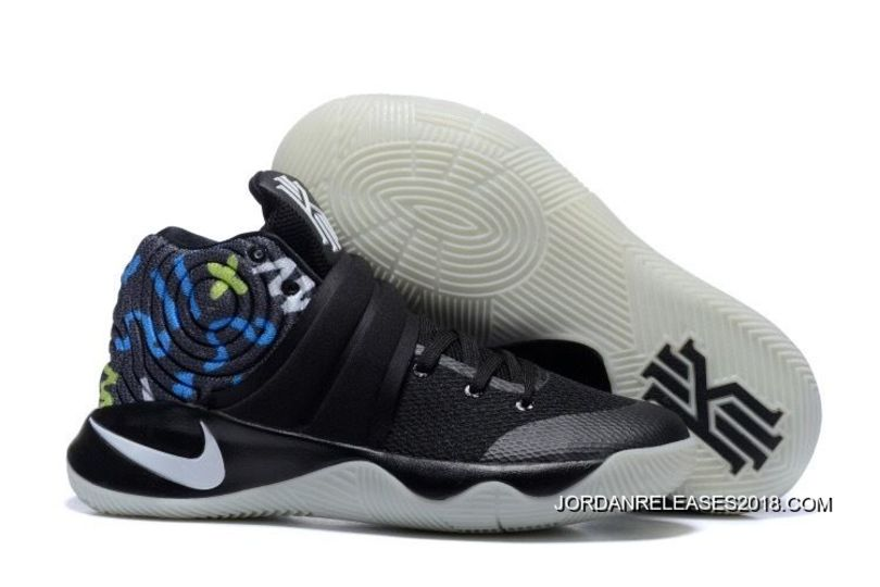 85838744e2914 2018 Top Deals Nike Kyrie 2 Black/Multi-Color Basketball Shoes ...
