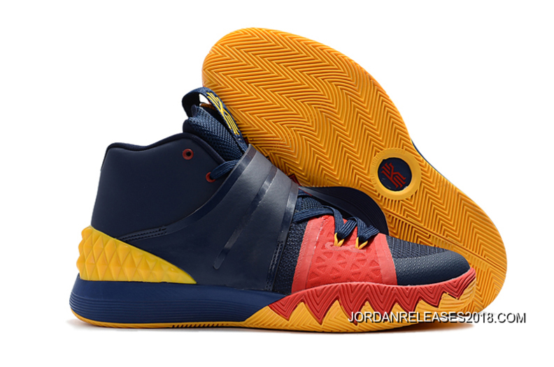 2018 For Sale Nike Kyrie S1 Hybrid Navy Blue/Yellow-Red