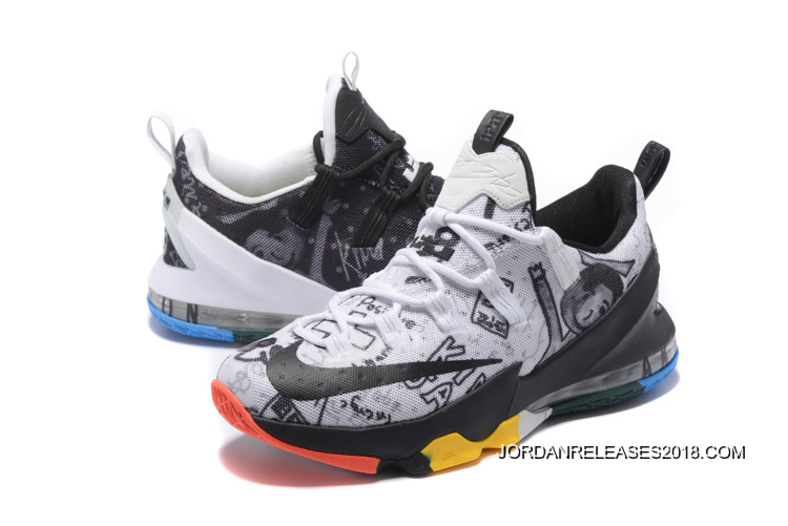 "7c37b10988f64 2018 Copuon Nike LeBron 13 Low ""LeBron James Family Foundation ..."